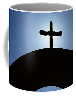 Coffee Mug featuring the photograph A Light From Above by Kay Brewer