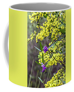 A Little Bit Of Purple Coral Pea Coffee Mug
