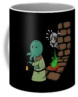 A Little Closer Dark Souls Thief Fire Scare Cartoon Daughter Coffee Mug