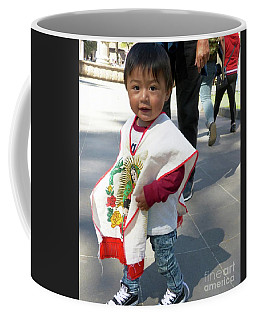 Coffee Mug featuring the photograph A Little Love by Rosanne Licciardi