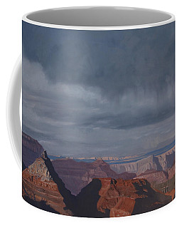 A Little Rain Over The Canyon Coffee Mug