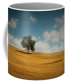 Coffee Mug featuring the photograph A Machias Hillside by Guy Whiteley
