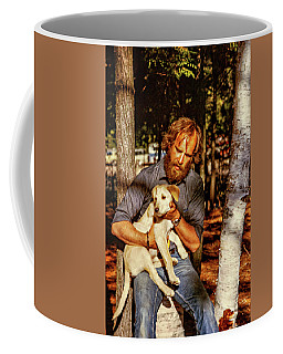 A Man And His Dog 2 Coffee Mug