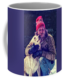 A Man And His Dog 3 Coffee Mug