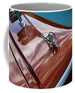Coffee Mug featuring the photograph A New Slant On An Old Vehicle - 1959 Edsel Corsair by Debi Dalio