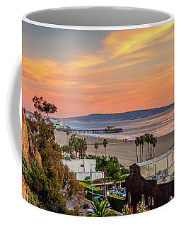 A Nice Evening In The Park - Panorama Coffee Mug