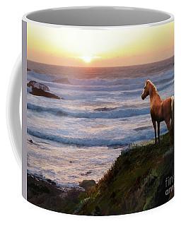 A Palomino Sunset Coffee Mug
