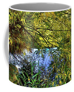 Coffee Mug featuring the photograph A Peek At The River by David Patterson