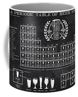 A Periodic Table Of Beer Styles Coffee Mug