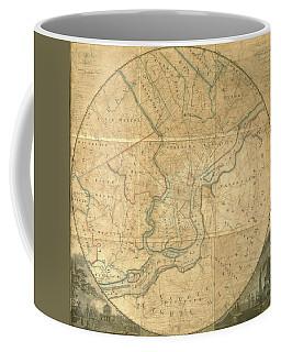 A Plan Of The City Of Philadelphia And Environs, 1808-1811 Coffee Mug