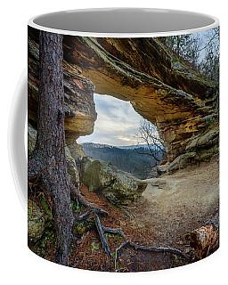 A Portal Through Time Coffee Mug
