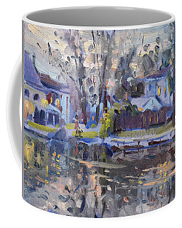 A Quiet Evening By The Water. Coffee Mug