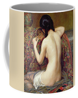 A Reflection, 1919 Coffee Mug
