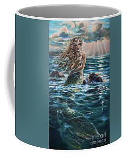 A Ship In The Distance Coffee Mug