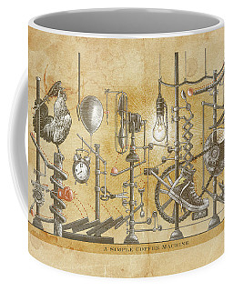 A Simple Coffee Machine Coffee Mug