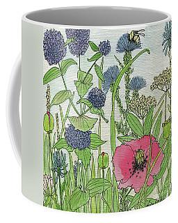 A Single Poppy Wildflowers Garden Flowers Coffee Mug