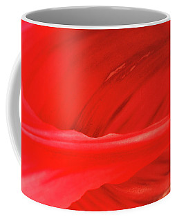 A Single Tulip Petal Coffee Mug