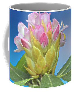 A Single Wild Rhododendron Blossom. Coffee Mug