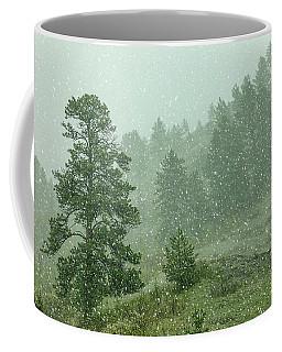 A Snow Falls Coffee Mug