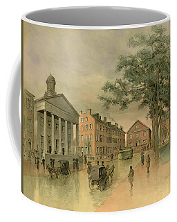 A Southwestern View Of Washington Square Coffee Mug