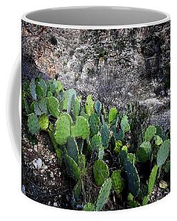 A Splash Of Cactus Color Coffee Mug
