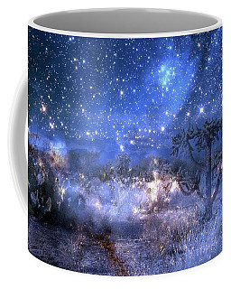 A Starry Night In The Desert Coffee Mug