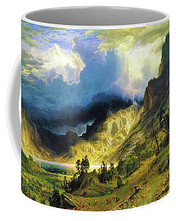A Storm In The Rocky Mountains, Mt Rosalie - Digital Remastered Edition Coffee Mug