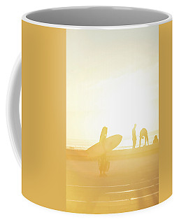 A Surf Board Coffee Mug