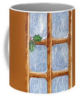 A Visit From Jack Frost Coffee Mug