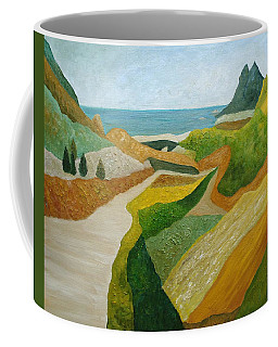 A Walk Down To The Sea Coffee Mug