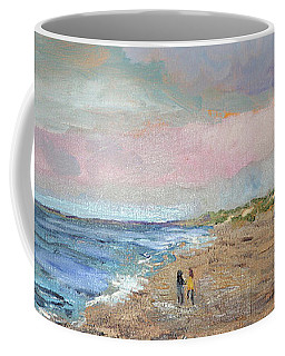 A Walk On The Beach Coffee Mug