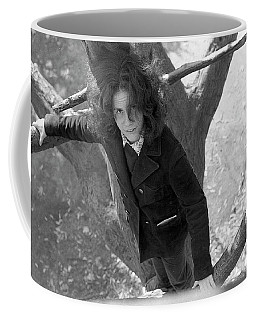 A Woman In A Tree, 1972 Coffee Mug