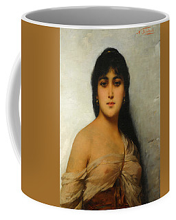 A Young Oriental Beauty Coffee Mug