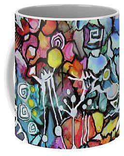 A Zentangle Dance Coffee Mug