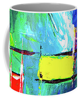 Coffee Mug featuring the painting Ab19-10 by Arttantra