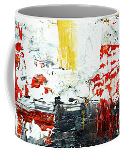 Coffee Mug featuring the painting Ab19-13 by Arttantra
