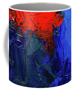 Coffee Mug featuring the painting Ab19-14 by Arttantra
