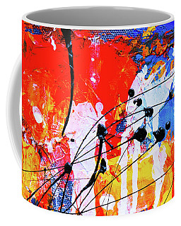 Coffee Mug featuring the painting Ab19-15 by Arttantra