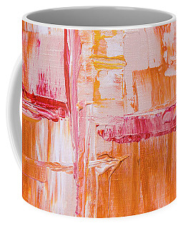 Coffee Mug featuring the painting Ab19-4 by Arttantra