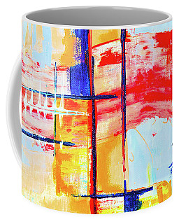Coffee Mug featuring the painting Ab19-5 by Arttantra