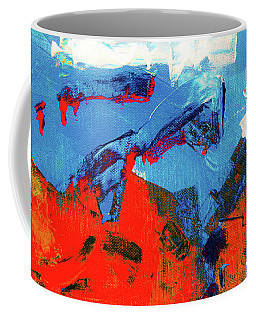 Coffee Mug featuring the painting Ab19-6 by Arttantra