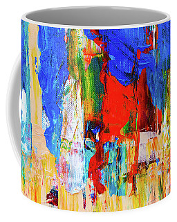 Coffee Mug featuring the painting Ab19-7 by Arttantra