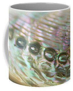 Coffee Mug featuring the photograph Abalone_shell_9892 by Mark Shoolery