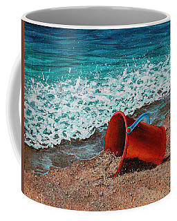 Coffee Mug featuring the painting Abandoned by Darice Machel McGuire