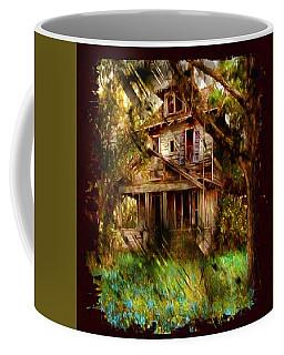 Abandoned Home With Black Border Coffee Mug