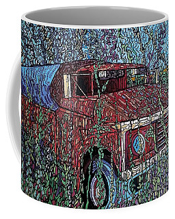 Abandoned Oil Truck  Coffee Mug