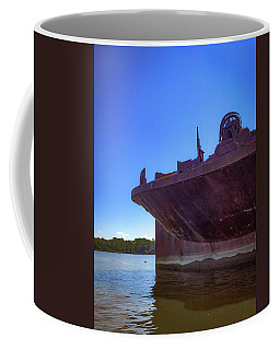 Coffee Mug featuring the photograph Abandoned Ship by Lora J Wilson