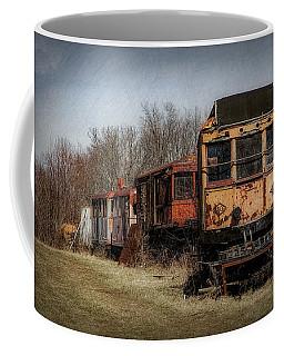 Abandoned Train Coffee Mug