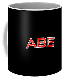 Coffee Mug featuring the digital art Abe by TintoDesigns