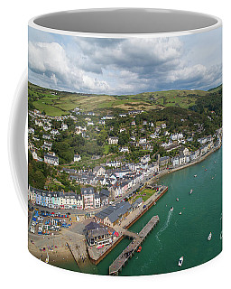 Aberdyfi From The Air Coffee Mug